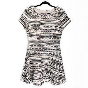 BANANA REPUBLIC Woven Fit and Flare Mini Dress 8